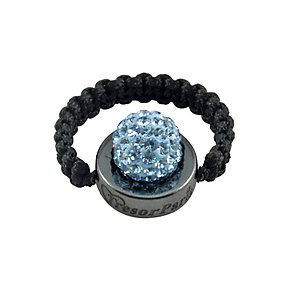 Tresor Paris Moncy light blue crystal ring size small - Product number 9546413