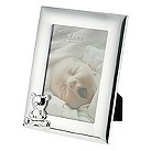 Teddy bear silver plated photo frame - Product number 9550127