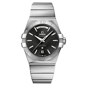 Omega Constellation men's stainless steel bracelet watch - Product number 9552022