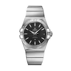 Omega Constellation men's 38mm black dial bracelet watch - Product number 9552030