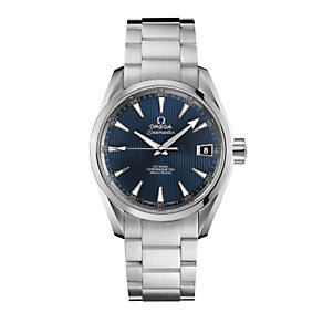 Omega men's stainless steel automatic bracelet watch - Product number 9552103