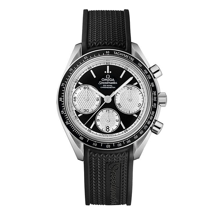 Omega Speedmaster Racing men's black strap watch - Product number 9552235