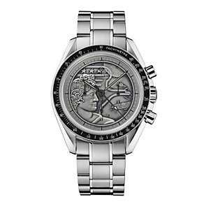 Omega Apollo XVII men's stainless steel bracelet watch - Product number 9552251