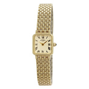 Rotary Ladies' Gold Plated Bracelet Watch - Product number 9552480