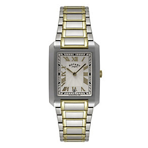 Rotary Men's Two Colour Bracelet Watch - Product number 9552502