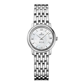 Omega De Ville ladies' stainless steel bracelet watch - Product number 9552537