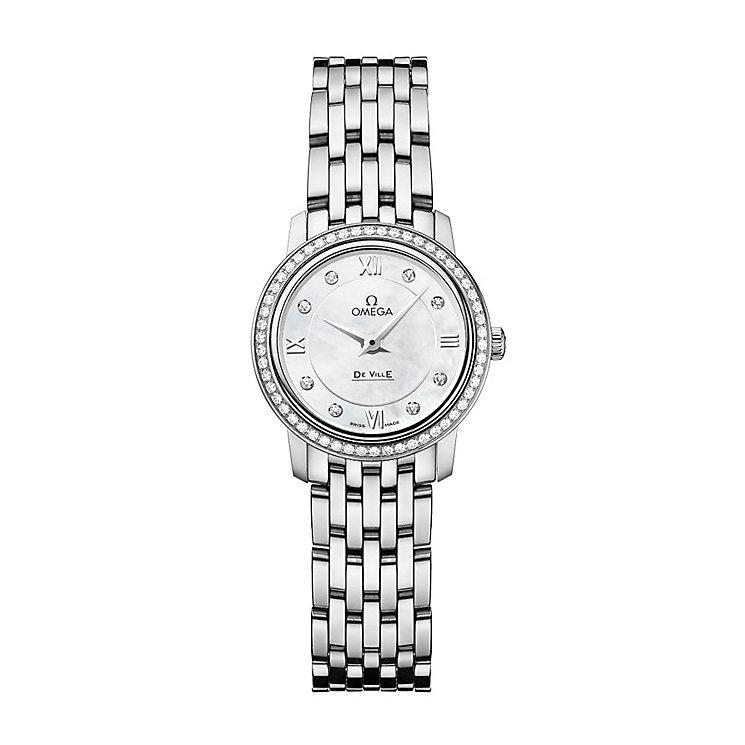 Omega De Ville Prestige Quartz ladies' bracelet watch - Product number 9552553