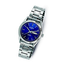 Rotary Men's Stainless Steel Blue Dial Bracelet Watch - Product number 9552928