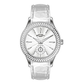 Rotary Ladies' White Dial Strap Watch - Product number 9553479