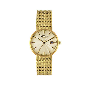 Rotary Men's Gold-Plated Bracelet Watch - Product number 9553614
