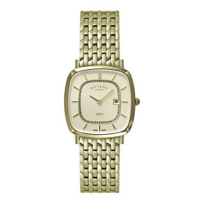 Rotary Men's Gold-Plated Bracelet Watch - Product number 9553738