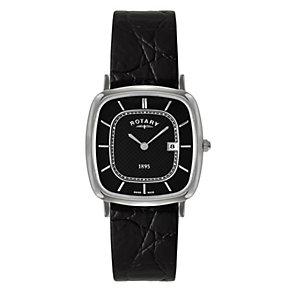Rotary Men's Black Strap Watch - Product number 9553746