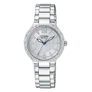 Citizen Eco-Drive Ladies' Diamond Set Bracelet Watch - Product number 9561102