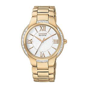 Citizen Eco Drive Ciena Ladies' Diamond Bracelet Watch - Product number 9561137