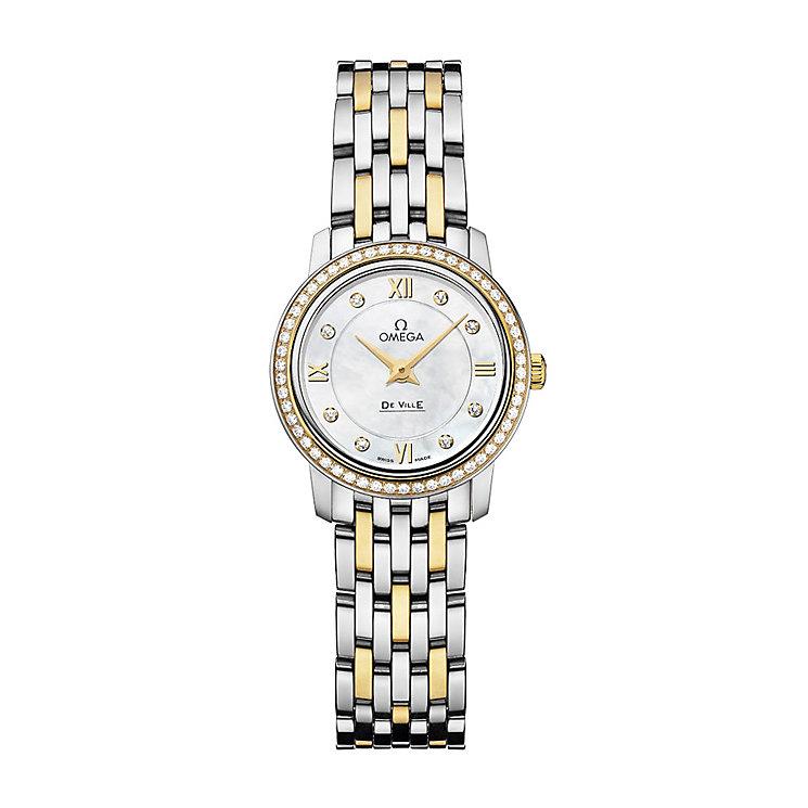 Omega De Ville Prestige Quartz ladies' bracelet watch - Product number 9561331
