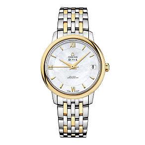 Omega De Ville ladies' two colour bracelet watch - Product number 9561366