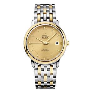 Omega De Ville ladies' two colour bracelet watch - Product number 9561390