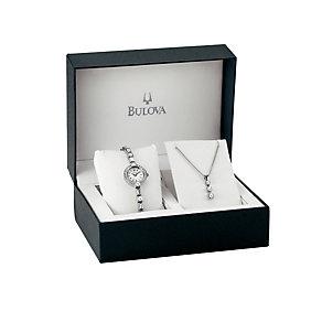 Bulova Ladies' Watch & Pendant Gift Set - Product number 9562079