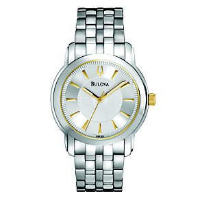 Bulova Exclusive Men's Stainless Steel Bracelet Watch - Product number 9562370