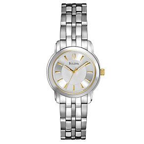 Bulova Exclusive Ladies' Stainless Steel Bracelet Watch - Product number 9562389