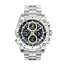 Exclusive Bulova Precisionist Men's Stainless Steel Watch - Product number 9562540