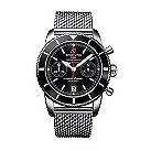 Breitling Superocean Chronograph men's mesh strap watch - Product number 9563016