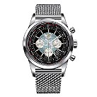 Breitling Transocean Unitime men's steel bracelet watch - Product number 9563032