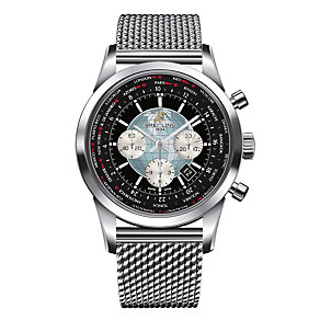 Breitling Transocean Unitime men's steel bracelet watch - Product number 9563032
