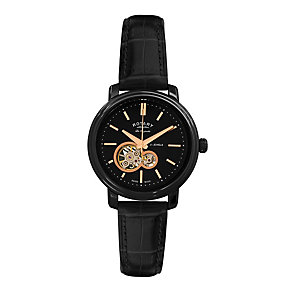 Rotary Jura Men's Black Strap Watch - Product number 9563938