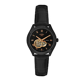 Rotary Jura Men's Black Strap Watch - Product number 9563970