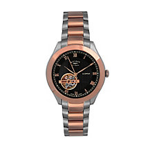 Rotary Jura Two Colour Black Bracelet Watch - Product number 9564004