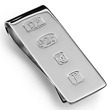 Sterling silver James Bond Money Clip - Product number 9571086