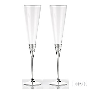 Vera Wang With Love toasting flutes - Product number 9571582
