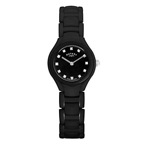 Rotary Ladies' Black Ceramic Bracelet Watch - Product number 9571965