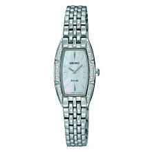 Seiko Solar Ladies' Diamond Set Bracelet Watch - Product number 9572635