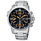 Seiko Solar Men's Chronograph Black Dial Bracelet Watch - Product number 9573364