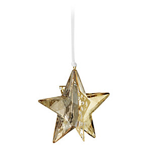 Swarovski Christmas Star Golden Shadow - Product number 9573461