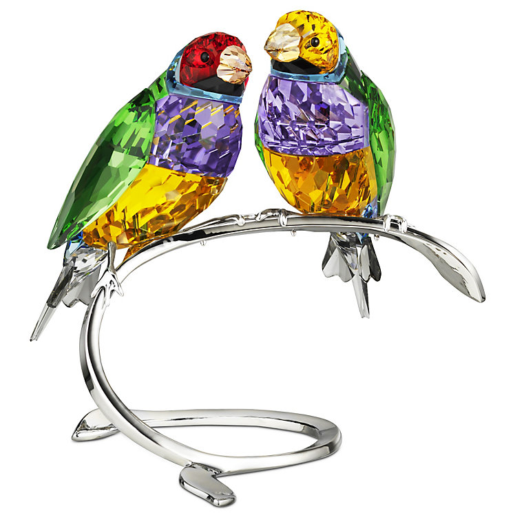 Swarovski Gouldian Finches Peridot - Product number 9573828