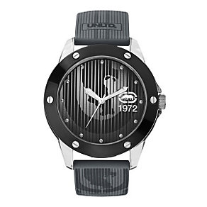 Marc Ecko Men's Grey Silicone Strap Watch - Product number 9574867