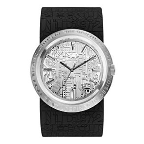 Marc Ecko Men's XL Black Strap Watch - Product number 9574921