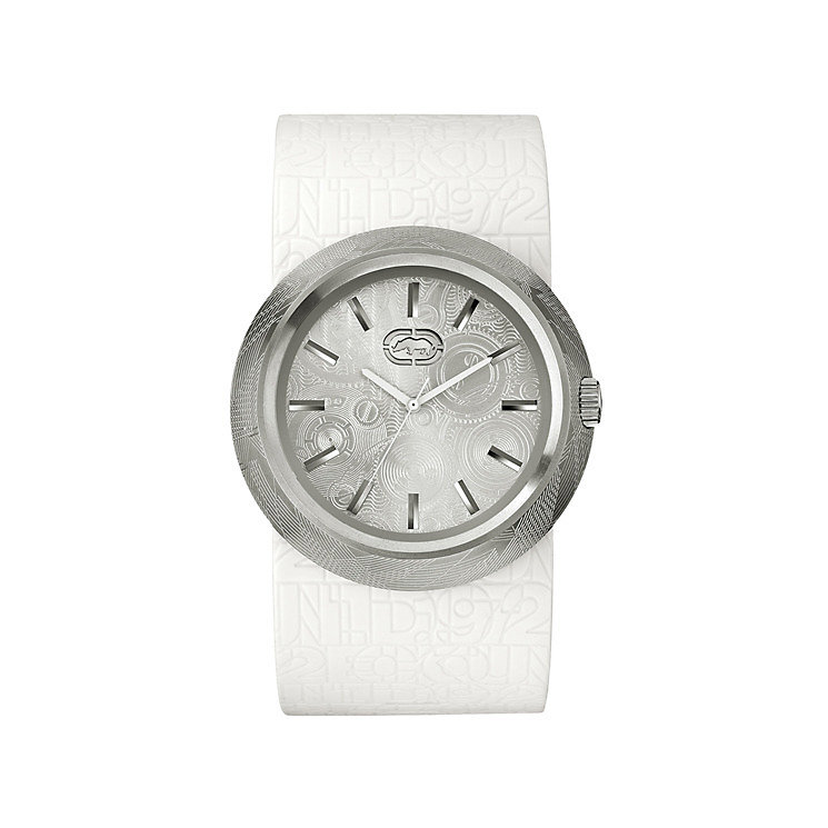 Marc Ecko Men's XL White Strap Watch - Product number 9574948