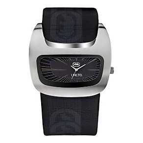 Marc Ecko Black Leather Cuff Watch - Product number 9575502