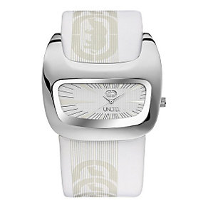 Marc Ecko White Leather Cuff Watch - Product number 9575596
