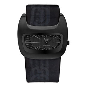 Marc Ecko Black Leather Cuff Watch - Product number 9575618
