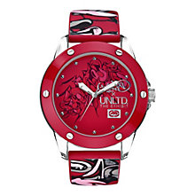 Marc Ecko Red Logo Silicone Strap Watch - Product number 9575693