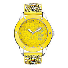 Marc Ecko Yellow Logo Silicone Strap Watch - Product number 9575715