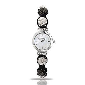 Sekonda Crystalla Ladies' Black & White Crystal Watch - Product number 9577971