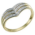 9ct Yellow Gold Diamond Eternity Ring - Product number 9581499