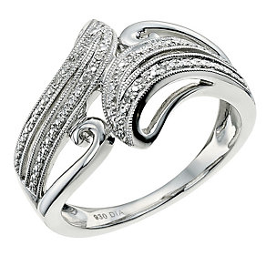 Argentium Silver Diamond Eternity Ring - Product number 9581766