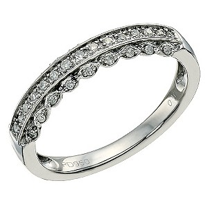 Palladium Diamond Eternity Ring - Product number 9582290